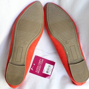 SO Shoes - SO Memory Foam Flats